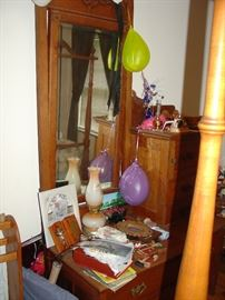 Antique Dresser & Dressing table
