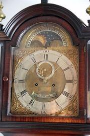 A Real Treasure Thomas Reid Tall Case Clock ca. 1790