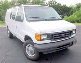 2005 Ford Econoline 3 Door Cargo Van, 241,812 Miles VIN # 1FTNE24W65HA43574