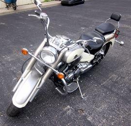 2003 Yamaha XVS650 V-Star 650 Classic Motorcycle, 1631 Miles, Starts and Runs, VIN # JYAVM01E03A053800