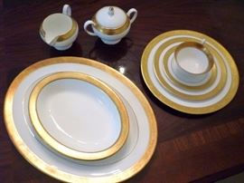 Wedgewood China in the Ascot Pattern - Service for 13