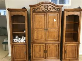 3 Pieces Wall Unit