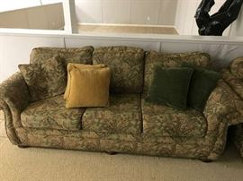 Comfy Sofa with Accent Pillows