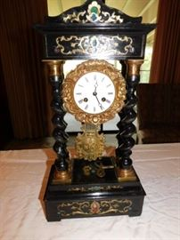 Hand made vintage  mantel clock