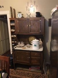 Antique Hossier Cabinet