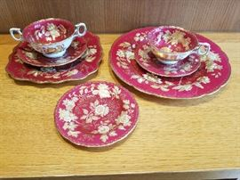 Wedgwood Dinner Service Tonquin Ruby