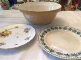 bowl and platess