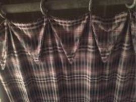 custom shower curtain with rod