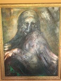 Joachim Probst (1913-1980), Oil on board, 48x60, 1962.