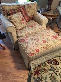chair and Ottoman, Matches sofa