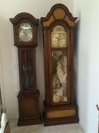 Grandmother and Grandfather Clocks