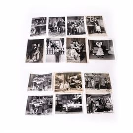 """Collection of """"I Love Lucy"""" Photographs: A collection of """"I Love Lucy"""" photographs. This collection includes a total of 14 images. Each is of Lucille Ball and Edward Everett Horton for the """"I Love Lucy"""" show. They were used for advertisement purposes."""