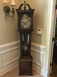 Howard Miller Mahogany Grandfather Clock