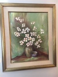One of several W.R. Jewell Paintings.