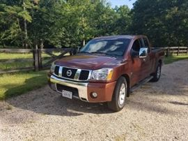 2004 Nissan Titan Crew Cab With Only 34k Miles 2wd