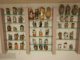 Large Antique Stein Collection (Mostly Mettlach)