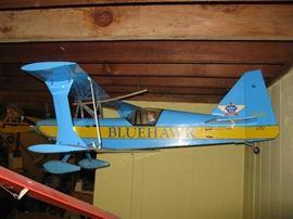 "Radio Control Modeler Air Plane - Carl Goldberg Model - Ultimate 10-300 - 91-2 Stroke Engine - 54"" wing Span"