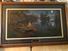 Kim Norlien, Moonlight Bay  3853/9500 Signed