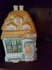 Lenox cookie jar
