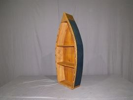 Wooden Boat Shelf