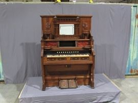 Wooden Pump Organ