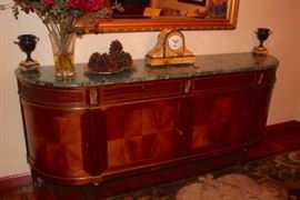 Buffet and Decorative