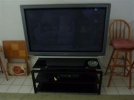 """Toshiba 50"""" HDMI Plasma TV Model #50HP95 """"Theater Wide"""" Series approx. 2005  Works, lost remote"""
