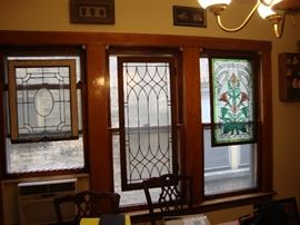 Stained Glass and Beveled glass