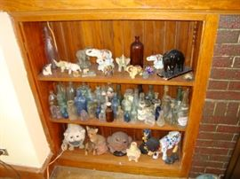 Glass Bottles and Elephants