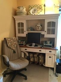 Very nice office/bedroom furniture, computer monitor, office chair, more!