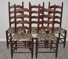 Set of 5 Woody Chairs