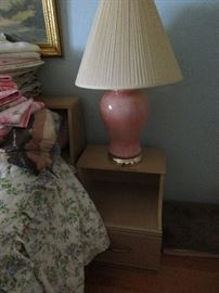 LAMPS AND NIGHT STAND