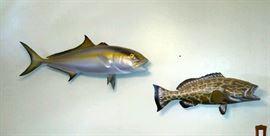 Beautiful fish mounts