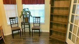 Side chairs, bookshelf