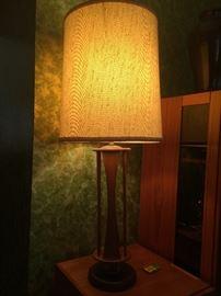 Retro three-way lamp