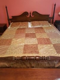 Ethan Allen King-size Bed