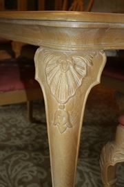 Carved legs
