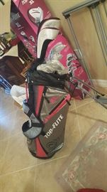 Woman's extra large golf set