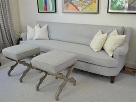 Custom Lester Furniture sofa
