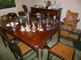 Lots of Sterling & Silver Plate Pieces