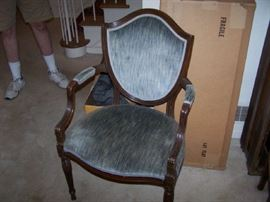 ONE OF THE ARMCHAIRS TO DINING SET