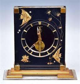 LeCoultre Aquarium Clock, bid online at www.fairfieldauction.com
