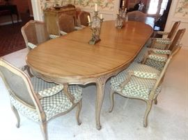 Dining Table and 10 Chairs