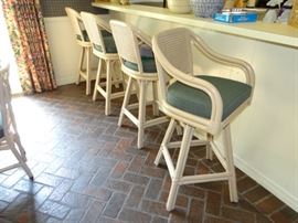 Four Nice Bar Stools