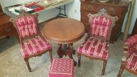 Parlor set and Parlor Table