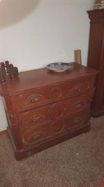 Dresser with Carved Pulls