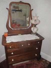 chest with mirror