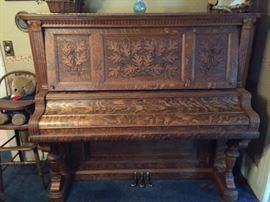 1905 Kimball Piano Quater sawn oak