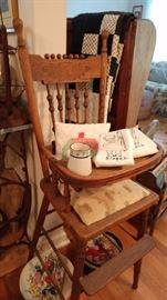 Victorian high chair