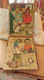 antique wooden puzzle
